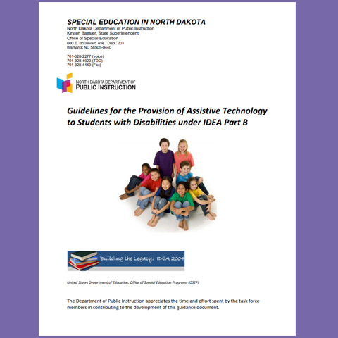 Guidelines for the Provision of Assistive Technology to Students with Disabilities under IDEA Part B