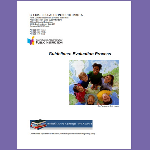 Guidelines: Evaluation Process