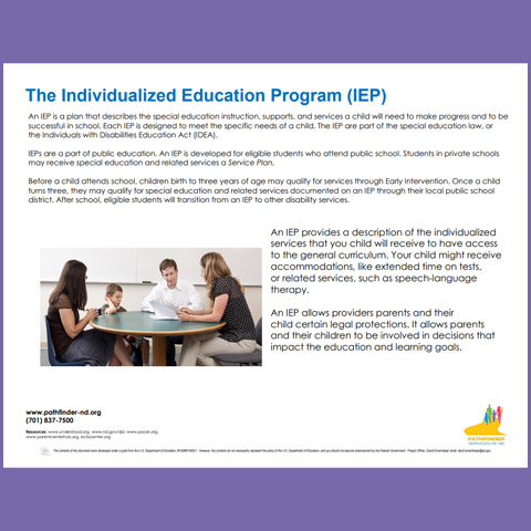 The Individualized Education Program (IEP)