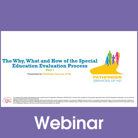 The Why, What and How of the Special Education Evaluation Process, Part 1