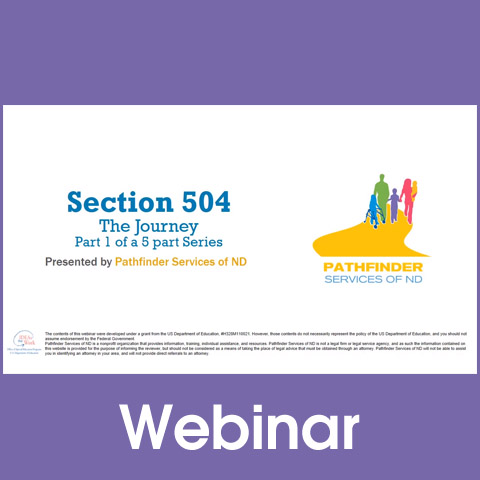 Section 504 - The Journey: Intro & History (Part 1)