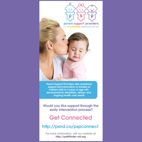 Parent Support Providers Rack Card