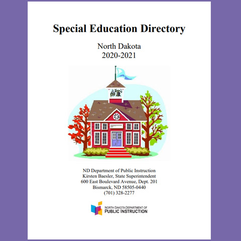 Special Education Directory - North Dakota 2020-2021