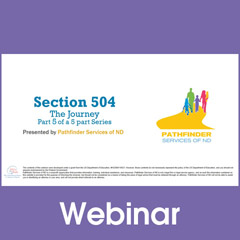 Section 504 - The Journey: Procedural Requirements and Safeguards (Part 5)