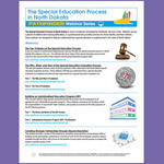 The Special Education Process in North Dakota - Webinar Series