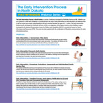 The Early Intervention Process in North Dakota - Webinar Series