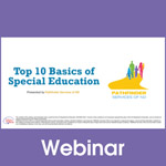The Top 10 Basics of the Special Education Process