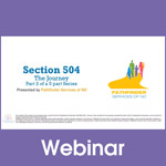 Section 504 - The Journey: Section 504 Disability Defined (Part 2)