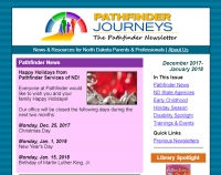 Pathfinder Journeys - December 2017-January 2018 cover